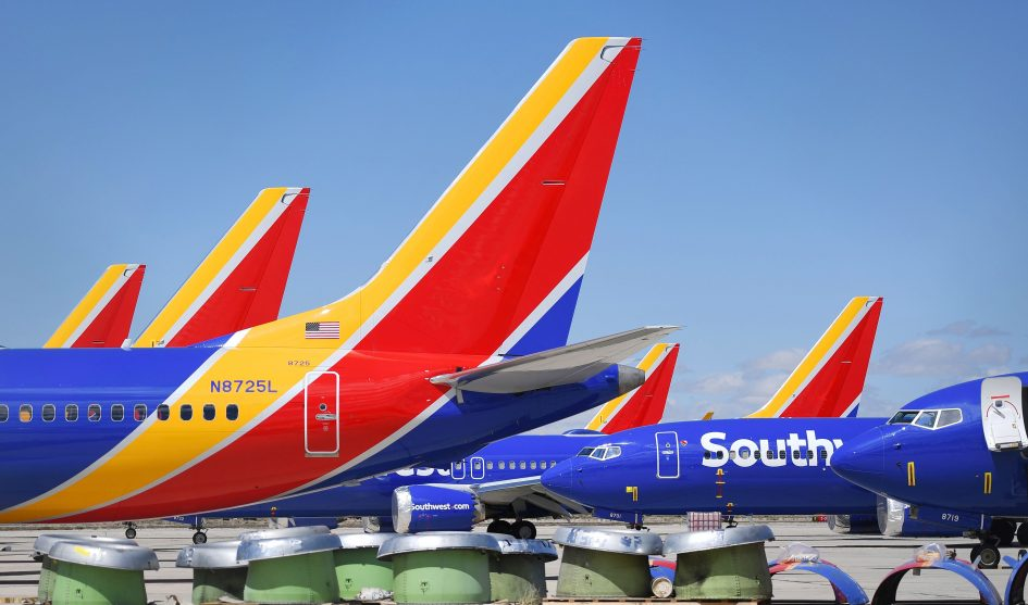 Southwest pulling out of Newark, cuts forecast after 737 Max grounding