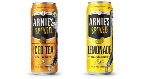 Spiked Millennial-Targeted Refreshments : Arnie's Spiked