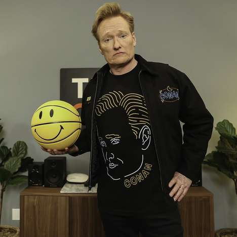 Talk Show Host-Inspired Streetwear : host Conan O'Brien