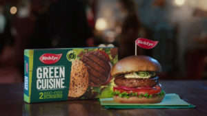 Vampire-Themed Meat-Free Ads : meat-free Green Cuisine