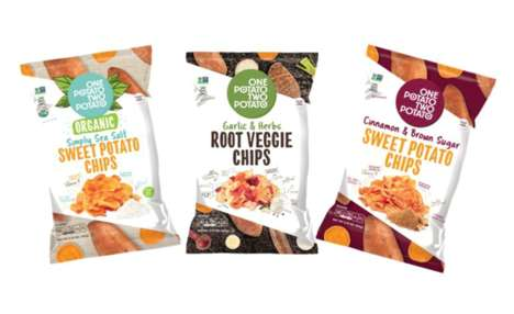 Veggie-Packed Snack Chips : One Potato Two Potato