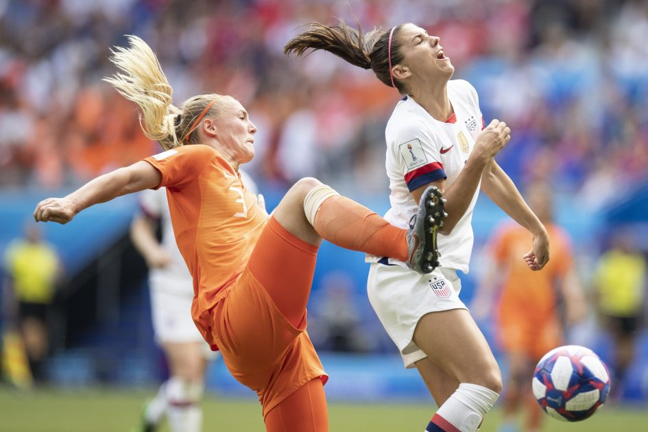 Women's World Cup draws better US ratings than last year's men's final