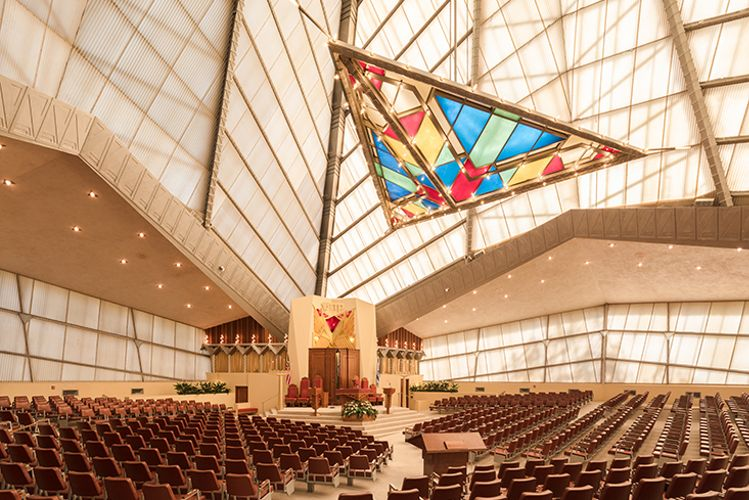 A Frank Lloyd Wright synagogue transformed