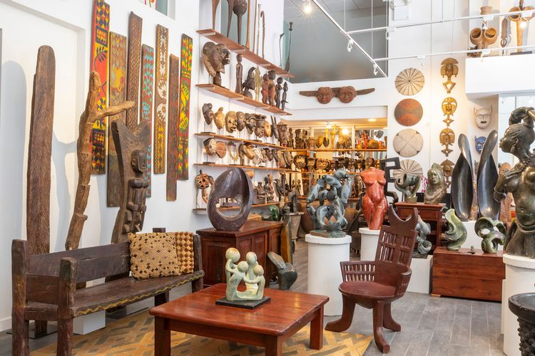 African art gallery co-founded by Hemingway's son opens Tribeca storefront