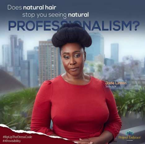 Afro Hair-Centric Billboard Campaigns : Challenges Stereotypes