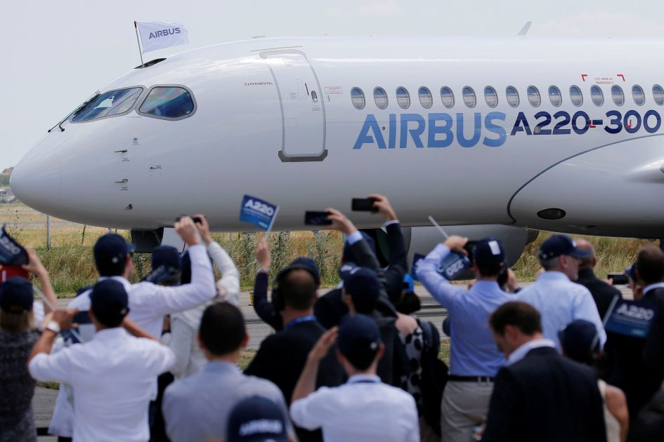 Airbus starts building A220 in Alabama