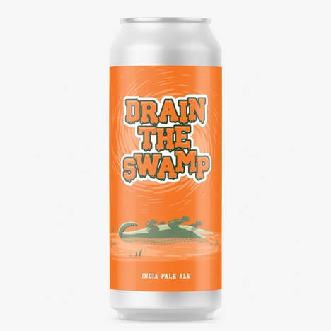 Alligator-Themed Beer Promotions : Drain the Swamp