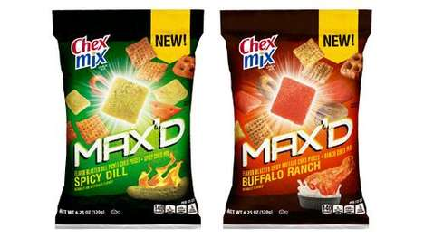Boldly Spiced Snack Mixes : Chex Mix MAX'D