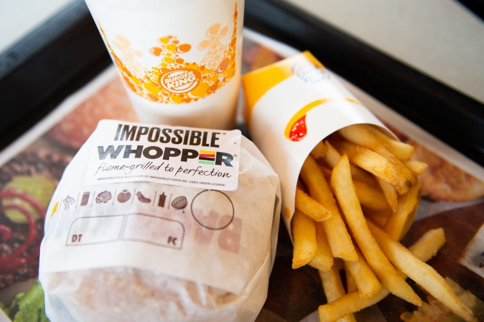 Burger King's plant-based Impossible Whopper is launching nationwide this month