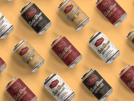 Canned Cold Brew Coffees : Station Cold Brew