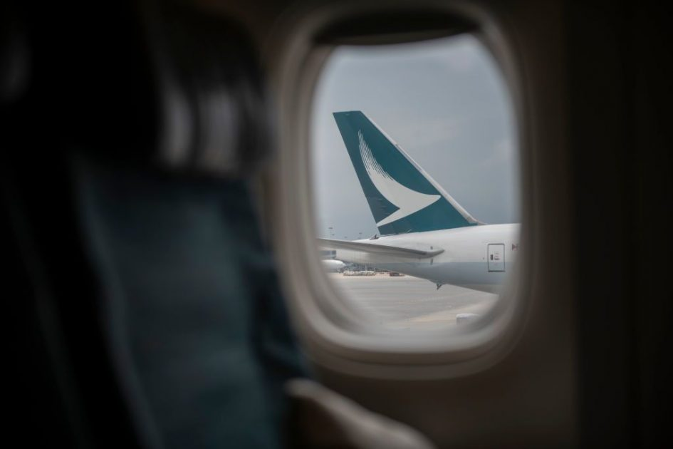 Cathay Pacific monitoring passengers with onboard cameras