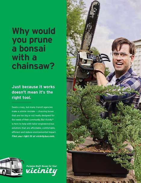 Chainsaw-Themed B2B Campaigns : The Right Tool