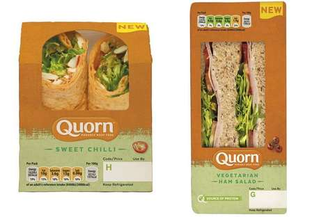 Convenient Plant-Based Sandwiches : meat-free sandwiches