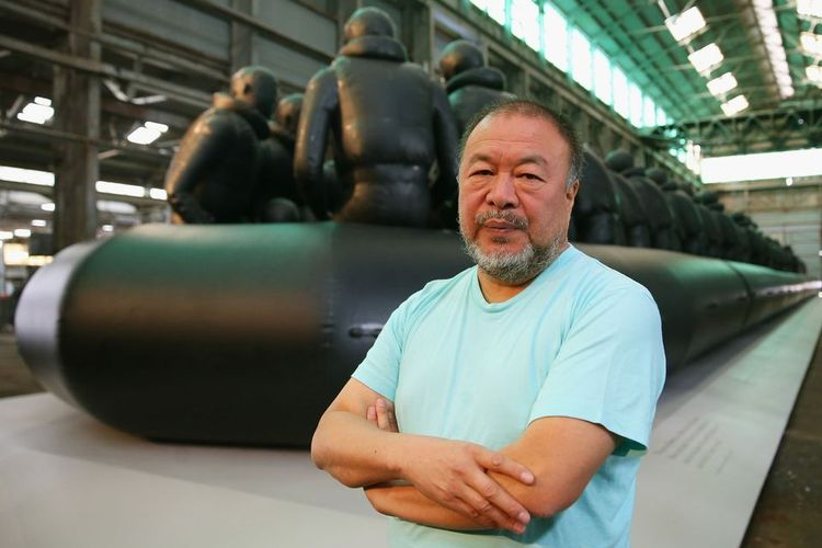 Despite Brexit, Ai Weiwei has moved to the UK