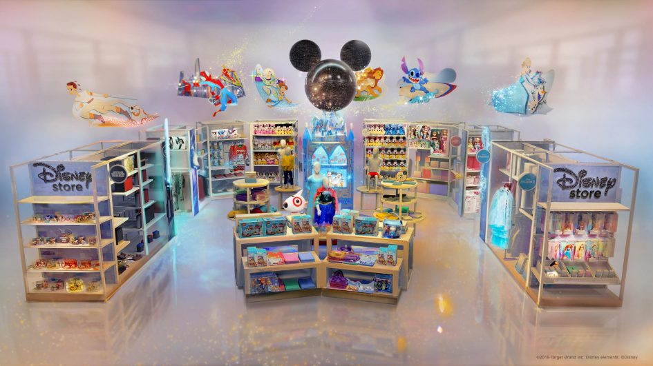 Disney and Target are teaming up to open stores with each other's help