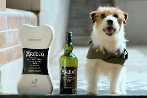 Dog-Centric Whisky Campaigns : Canine Delivery Service