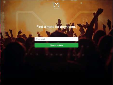 Event Friend-Finding Apps : Matenic app