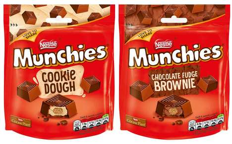 Expanded Chocolate Product Lines : Nestlé Munchies