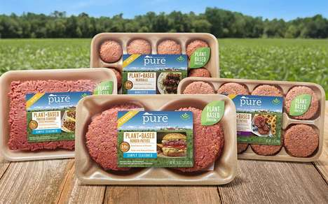 Expansive Meat Alternative Products : plant-based meat products