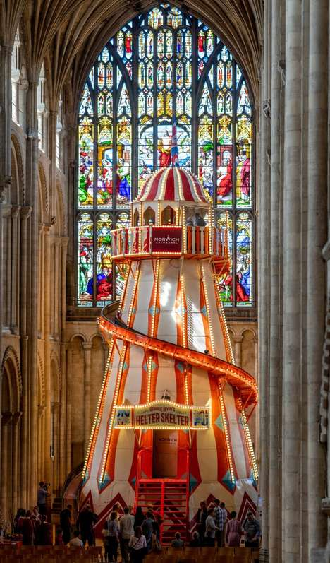 Funhouse Chapel Rides : Norwich Cathedral