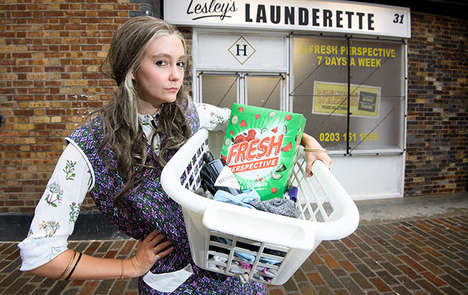 Gin-Sharing Laundromats : Lesley's Laundrette