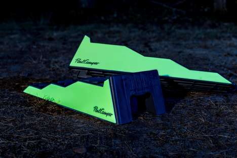 Glow-in-the-Dark Camper Levelers : Glow Blocks