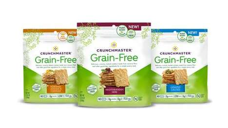 Grain-Free Root Veggie Crackers : Grain-Free Crackers