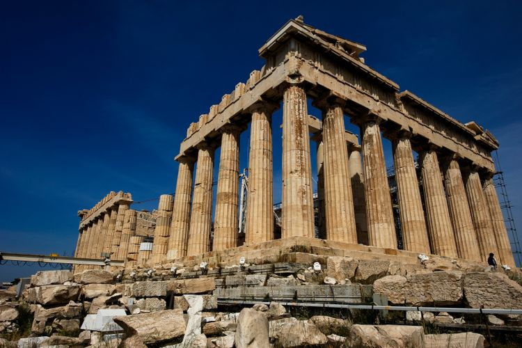Greece in talks with Louvre to borrow Parthenon frieze as part of 'temporary exchange'