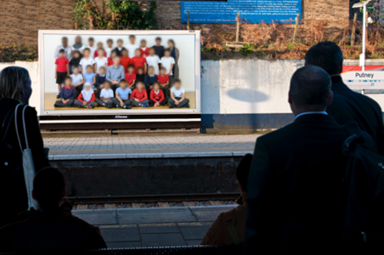 Huge photos of school children to appear on London billboards as part of Steve McQueen's Tate initiative