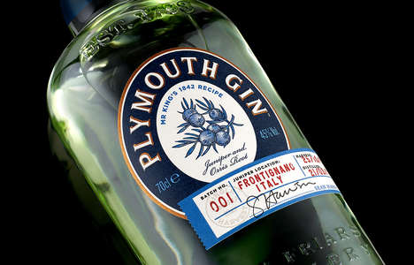 Limited Edition Craft Gins : Plymouth Gin