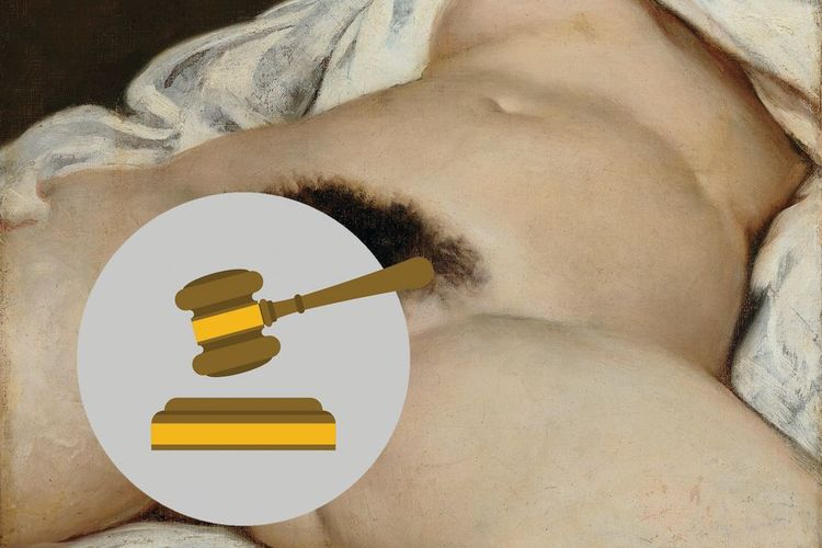 Long-running Facebook battle over censored Courbet painting gets happy ending