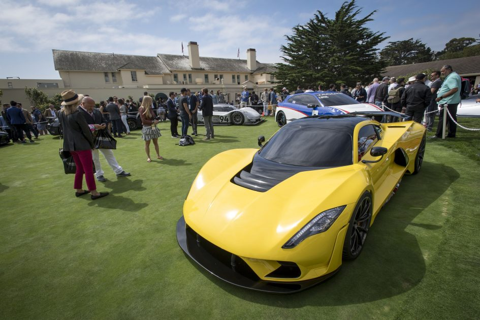 Luxury automakers from Bugatti to Pagani debut new cars at Pebble Beach