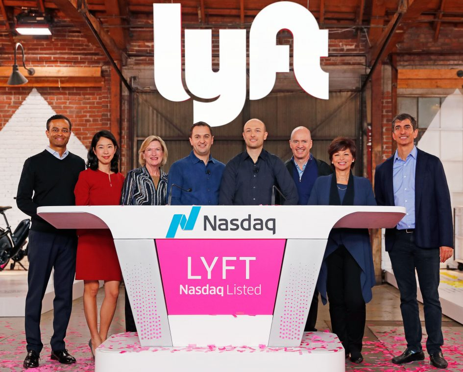 Lyft insiders not selling at their first chance since IPO
