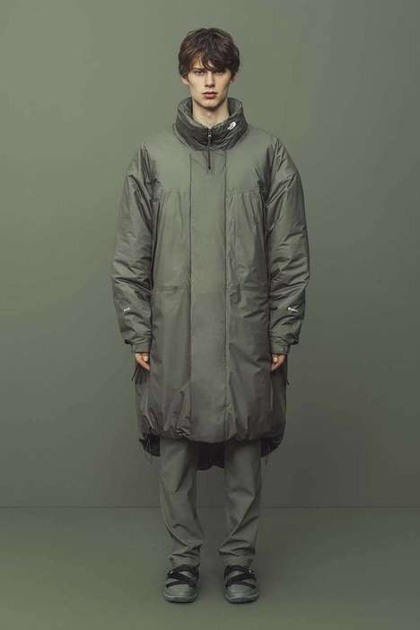 Minimal Futuristic Technical Wear : futuristic technical wear