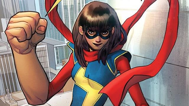 Ms. Marvel is getting a live action series on Disney+