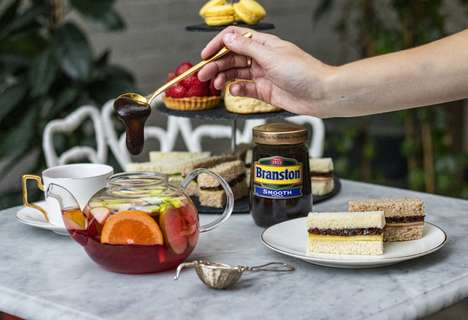 Pickle-Flavored Afternoon Teas : Tea Week