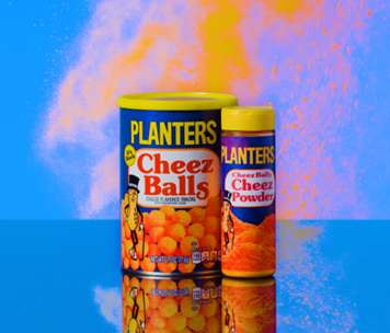 Retro Cheese Powder Shakers : Cheez Ball