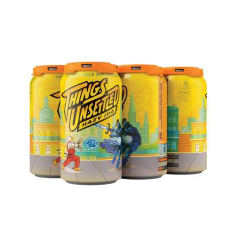 Retro Papaya-Flavored Beers : Things Unsettled