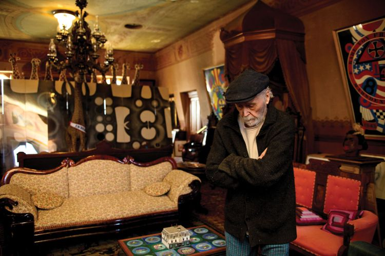 Robert Indiana's caretaker allowed him 'to live in squalor and filth' despite artist having $13m in the bank