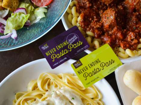Scavenger-Hunt-Style Marketing Campaigns : Pasta Pass