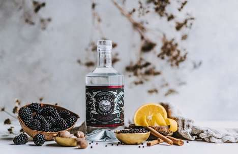 Seasonal Cold Weather Gins : ​Lyme Bay Winter Gin