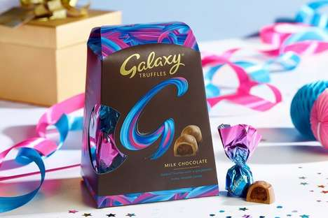 Special Edition Seasonal Chocolates : Galaxy Truffles