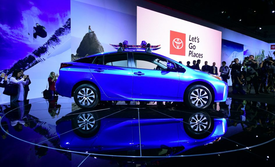 The breakthrough Toyota Prius became a victim of its own success