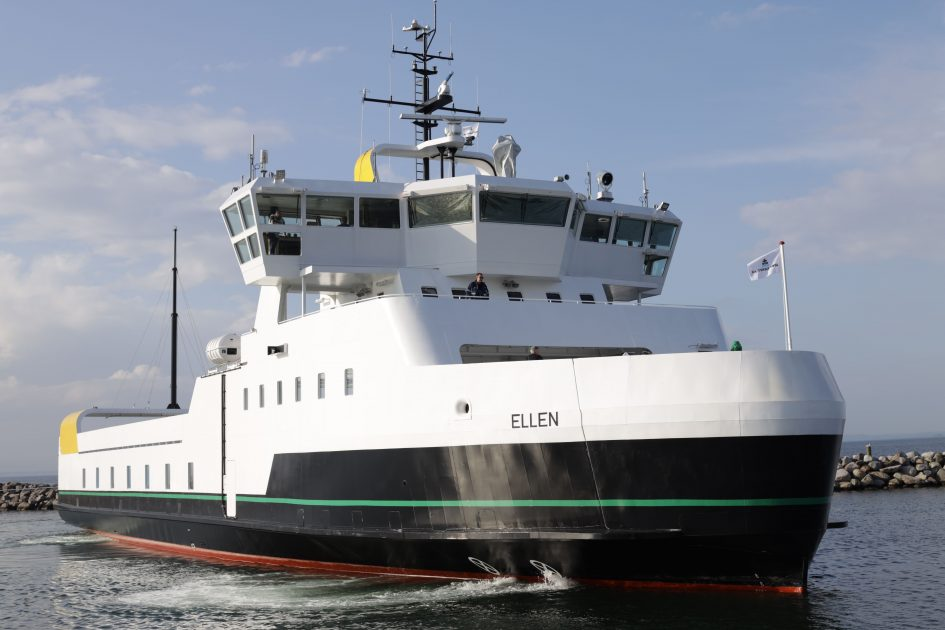 The world's largest all-electric ferry completes maiden voyage