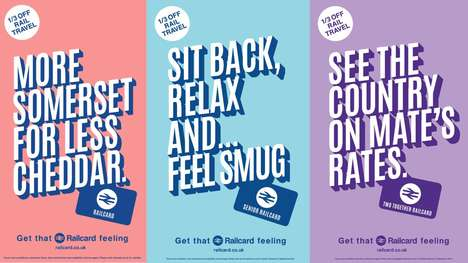 Travel-Themed Train Campaigns : National Rail