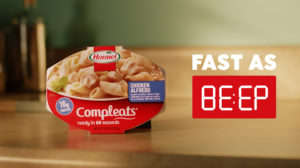 Ultra-Fast Microwaveable Meal Ads : Fast as Be:ep