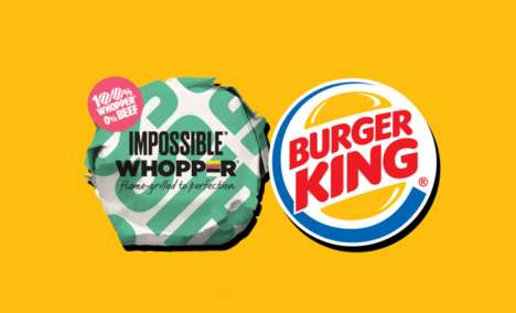 Vegan Burger Giveaway Promotions : Free Impossible Whopper