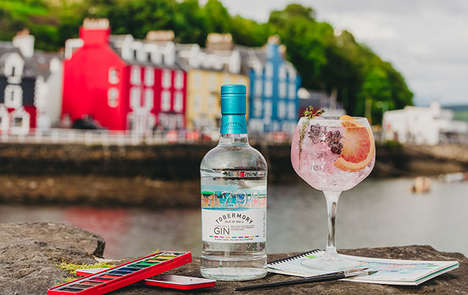 Whiskey-Infused Scottish Gins : Tobermory Gin