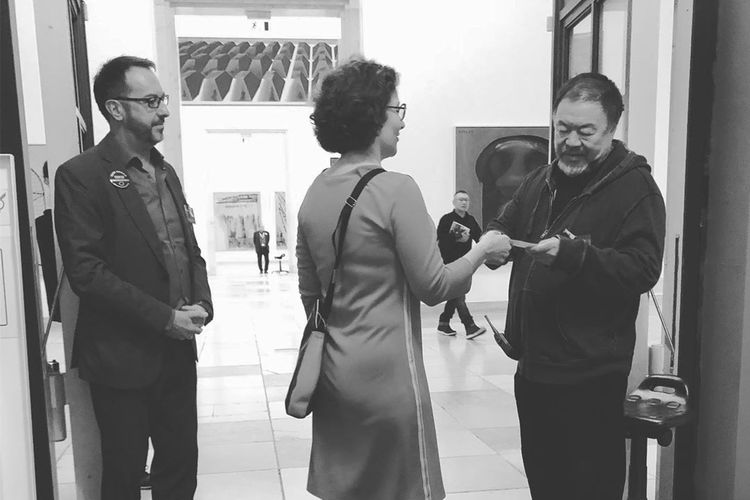 Ai Weiwei was not 'thrown out' of Munich's Haus der Kunst, artist confirms