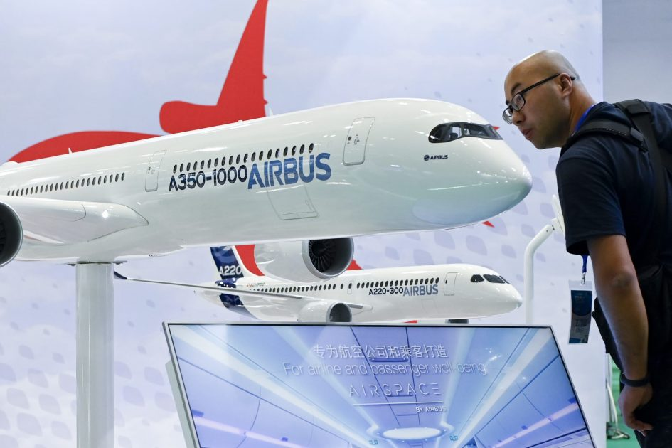 Airbus ups 20-year new jet forecast in aviation market outlook